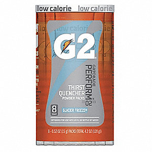 Sports Drink Mix, Powder Concentrate, Low Calorie, 8 Package Quantity