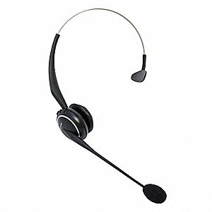 Wireless Headset, Black&#x3b; For Office Phones