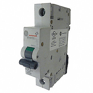 IEC Supplementary Protector, 15 Amps, Number of Poles:  1, 277VAC AC Voltage Rating