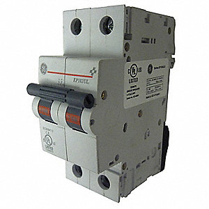 IEC Supplementary Protector, 2 Amps, Number of Poles:  2, 277/480VAC AC Voltage Rating