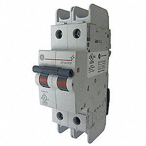 Mini Circuit Breaker,2A,2 Poles,D,240V