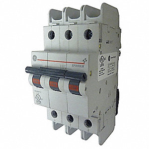 Mini Circuit Breaker,6A,3 Poles,B,240V