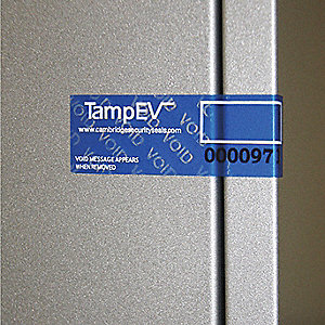 LABELS TMPR EVDNT 2INX3IN 1000 RL