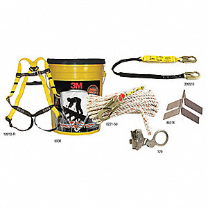 CSA ROOFERS KIT REUSABLE ROOF ANCHR