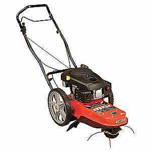 "Field Trimmer, 22"" Cutting Width, Engine Displacement: 173cc, Drive Type: Push"