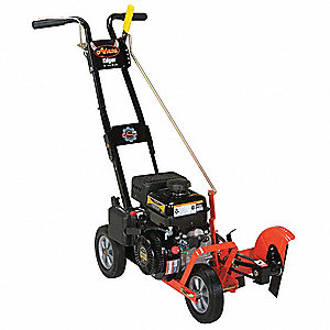 "Lawn Edger, 9"" Blade Dia., 4.5"" Cutting Depth, 136cc Engine Displacement"