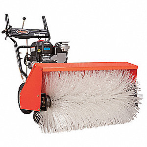 Power Brush Sweeper,28 In. 169cc Engine