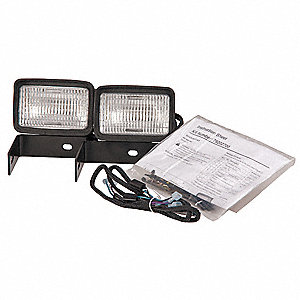 Headlight Kit, For Use With MFR. NO. 991085, 991086, 1 EA