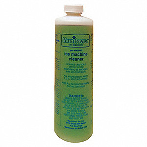 Ice Machine Cleaner,16 oz.,Green