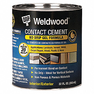 1 qt. Contact Cement, Tan