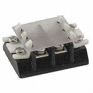 Clear Terminal Cover,2 Pole,For 6ZEF2