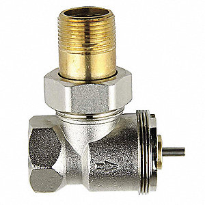 Thermostatic Radiator Valve,Size 3/4 In
