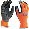 GLOVES THERMAL KNIT HI-VIS ORANGE 7