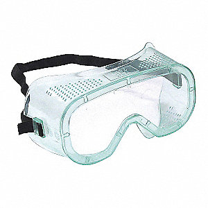 GOGGLES SFTY IMPACT  CLR UNCTED LNS