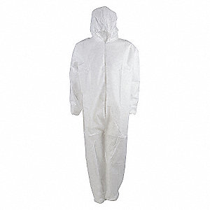 COVERALLS DISP MCROP ANTI-STAT L