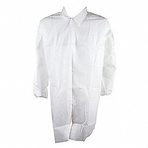 COAT LAB MICROPRS ANTI-STAT WHT 5XL