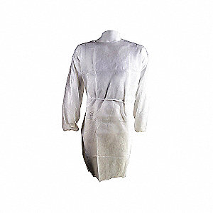 GOWN SURGICAL DISP POLYPROP WHT 2XL