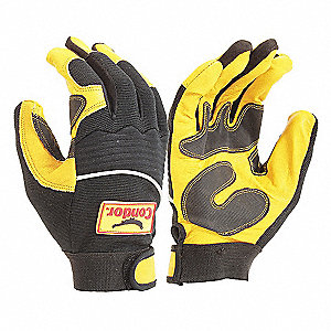 GLOVES MECHANIC PERFRM GOAT PALM M