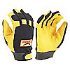 GLOVES MECHANIC PERFRM GOAT PALM L