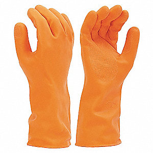 GLOVES CR 27MIL LATX/NEO/BLND OR 8