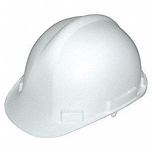 HAT SAFETY CSA HDPE RATCHET WHITE