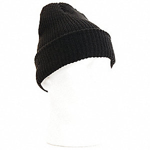 TOQUE KNITTED BLACK