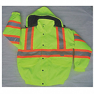 JACKET BOMBER TRAFFIC YELLOW 2L