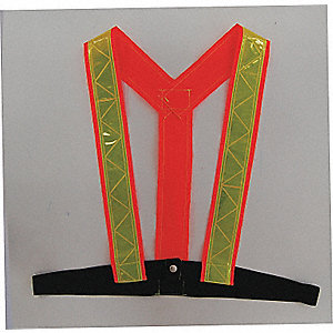 Y-HARNESS TRAFFIC ORANGE XL