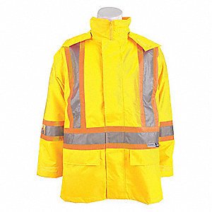 JACKET TRAFFIC 3-IN-1 YELLOW 3XL