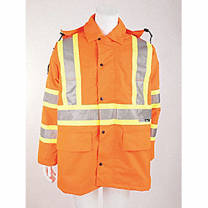 JACKET LONG TRAFFIC ORANGE M