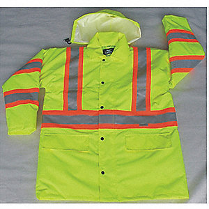 JACKET LONG TRAFFIC YELLOW 5XL