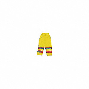 PANTS TRAFFIC BIB YELLOW 2XL
