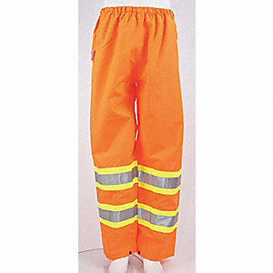 PANTS TRAFFIC EL WAIST ORANGE XL