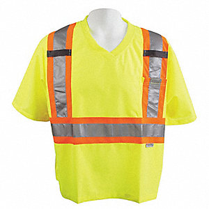 T-SHIRT TRAFFIC CSA YELLOW M