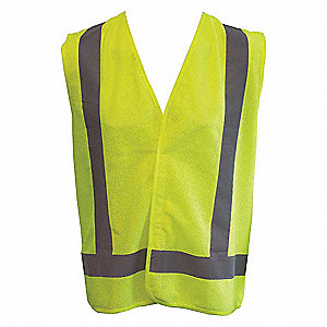 VEST TRAFFIC ECONO MESH YELLOW 6XL