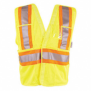 VEST MESH TRAFFIC CSA YELLOW L/XL