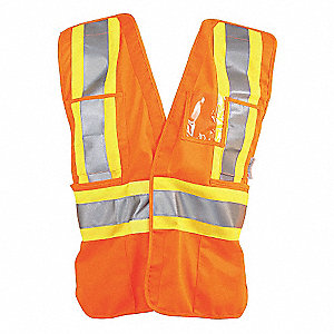 VEST TRAFFIC CSA ORANGE L/XL