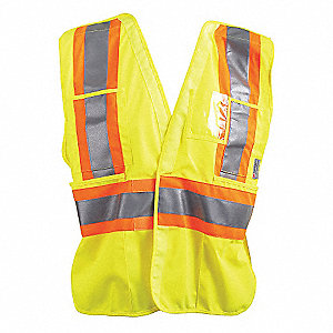 VEST TRAFFIC CSA YELLOW 2XL/3XL