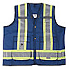 VEST SURVEYORS STANDARD BLUE 2XL