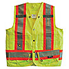 VEST SURVEYORS CSA YELLOW XL