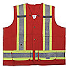 VEST SURVEYORS STANDARD RED M