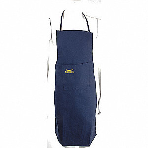 APRON DUCK COTTON NAVY