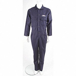 COVERALLS COTTON FR NAVY XL