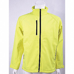 JACKET SOFT SHELL YELLOW 3XL