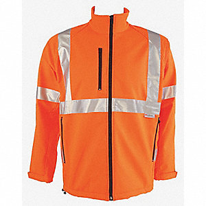 JACKET SOFT SHELL HI-VIS ORANGE S