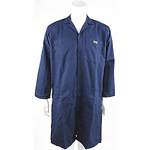 COAT SHOP POLY/COTTON NAVY M