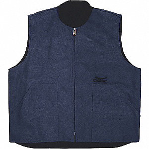 VEST QUILTED NAVY XL