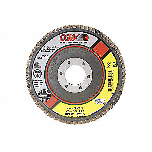 DISC FLAP Z3 T29 XL 4-1/2X7/8 40GR