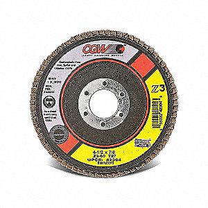 DISC FLAP Z3 T27 4-1/2X7/8 60GR REG