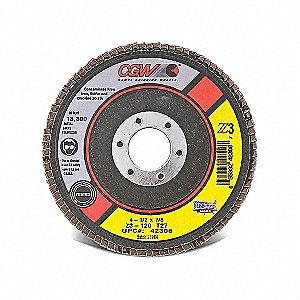 DISC FLAP Z3 T27 4-1/2X7/8 120GR RG
